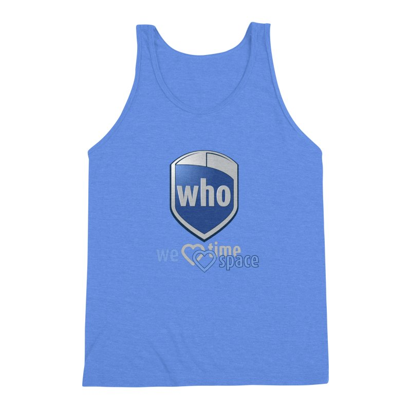Who Delivery Service Men's Triblend Tank by Ben's Shirt Shop of AwesomeShop