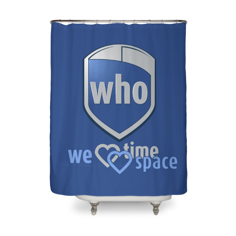 Who Delivery Service Home Shower Curtain by Ben's Shirt Shop of AwesomeShop