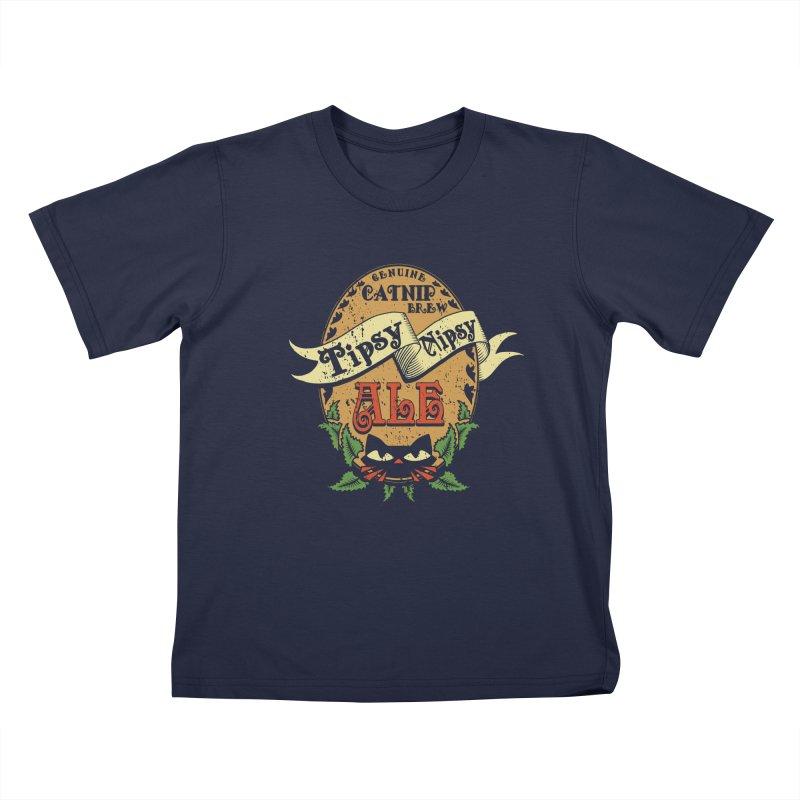 Tipsy Nipsy Kids T-shirt by Ben's Shirt Shop of AwesomeShop