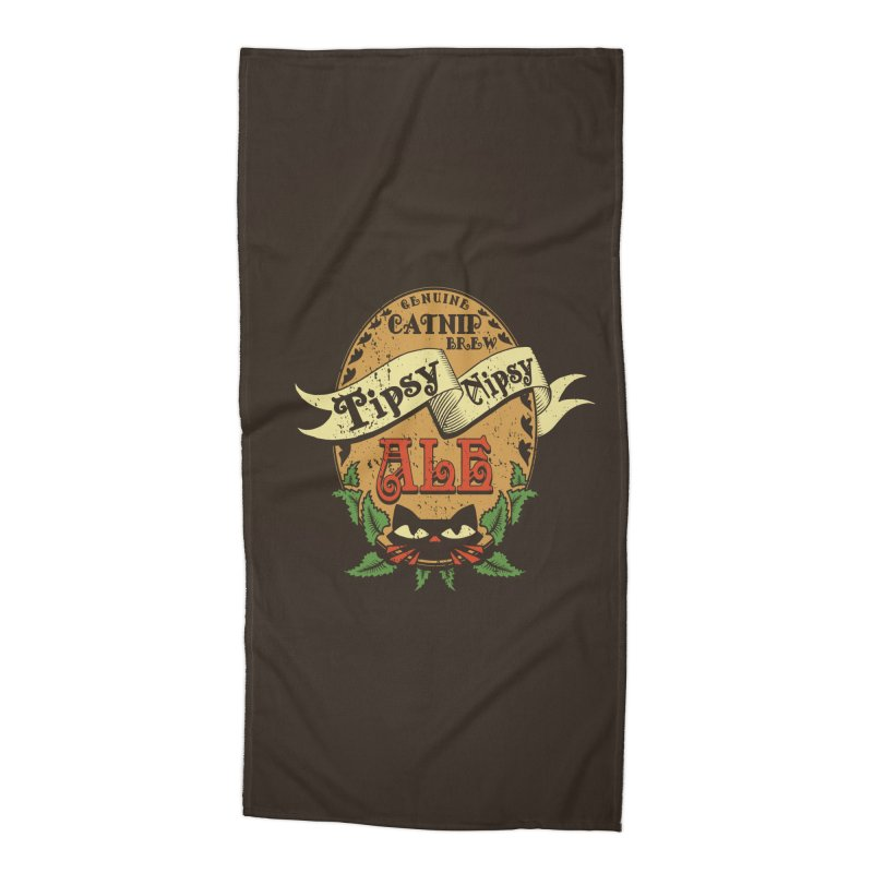 Tipsy Nipsy Accessories Beach Towel by Ben's Shirt Shop of AwesomeShop