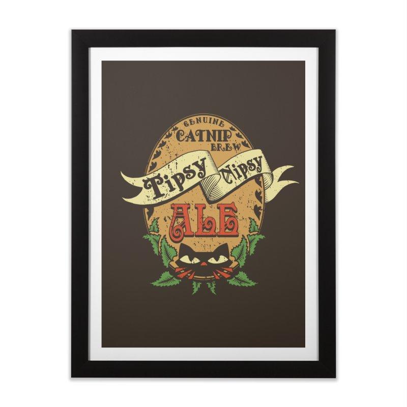 Tipsy Nipsy Home Framed Fine Art Print by Ben's Shirt Shop of AwesomeShop