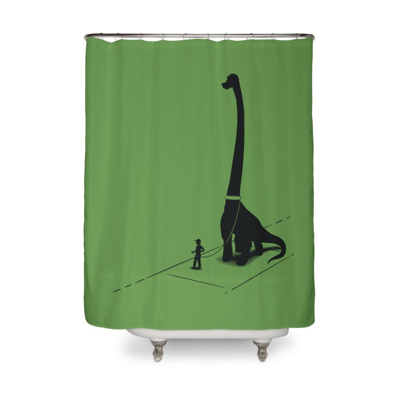 A Child's Pet Home Shower Curtain by Ben's Shirt Shop of AwesomeShop