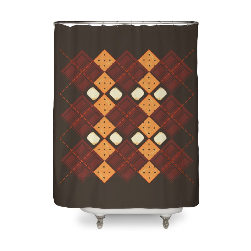 S'morgyle Home Shower Curtain by Ben's Shirt Shop of AwesomeShop