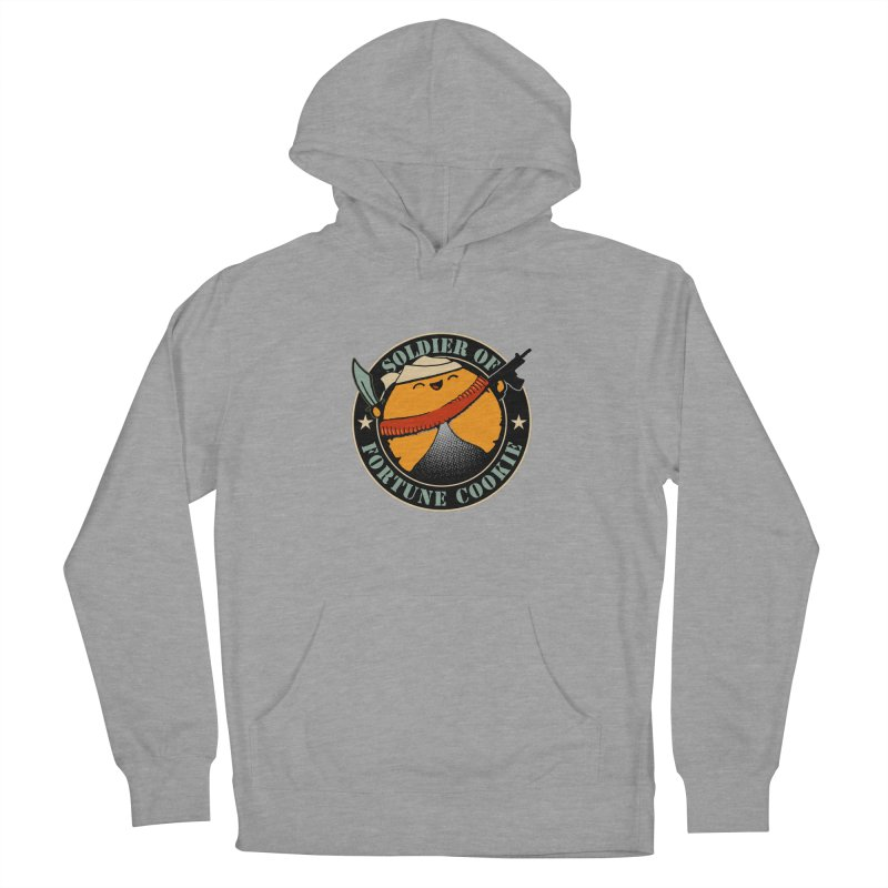 Soldier of Fortune Cookie Women's Pullover Hoody by Ben's Shirt Shop of AwesomeShop