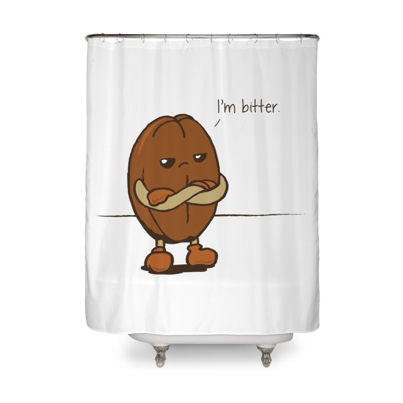 Lil Bitter Home Shower Curtain by Ben's Shirt Shop of AwesomeShop