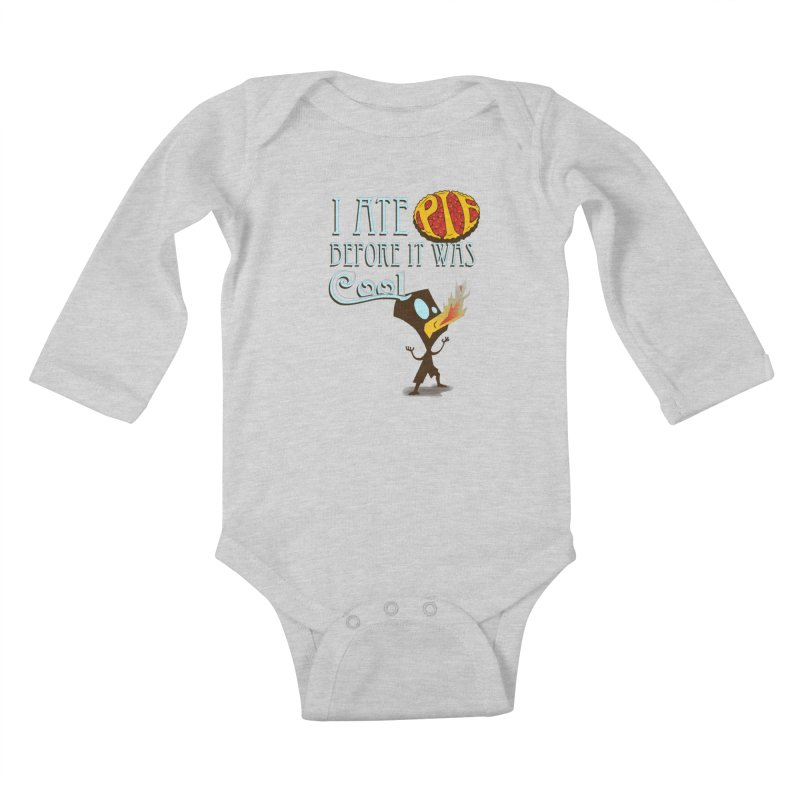 Before it was Cool Kids Baby Longsleeve Bodysuit by Ben's Shirt Shop of AwesomeShop