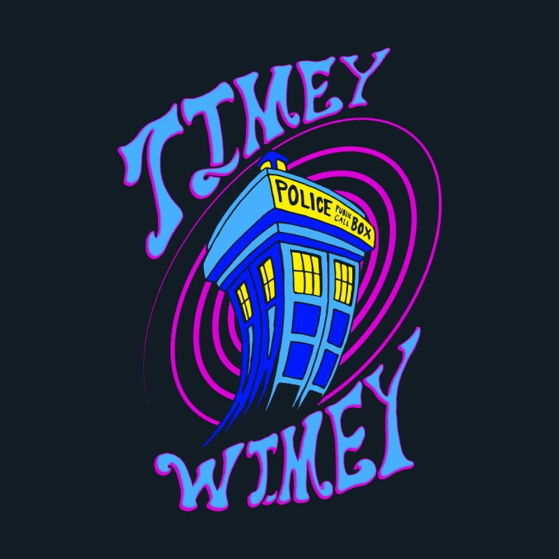 Timey Wimey Home Shower Curtain by Ben's Shirt Shop of AwesomeShop