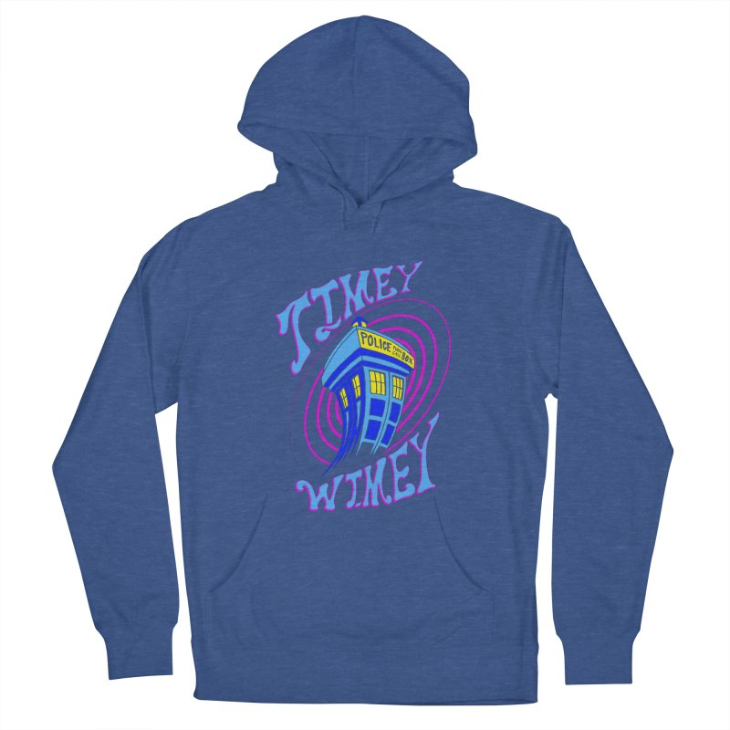 Timey Wimey Women's Pullover Hoody by Ben's Shirt Shop of AwesomeShop