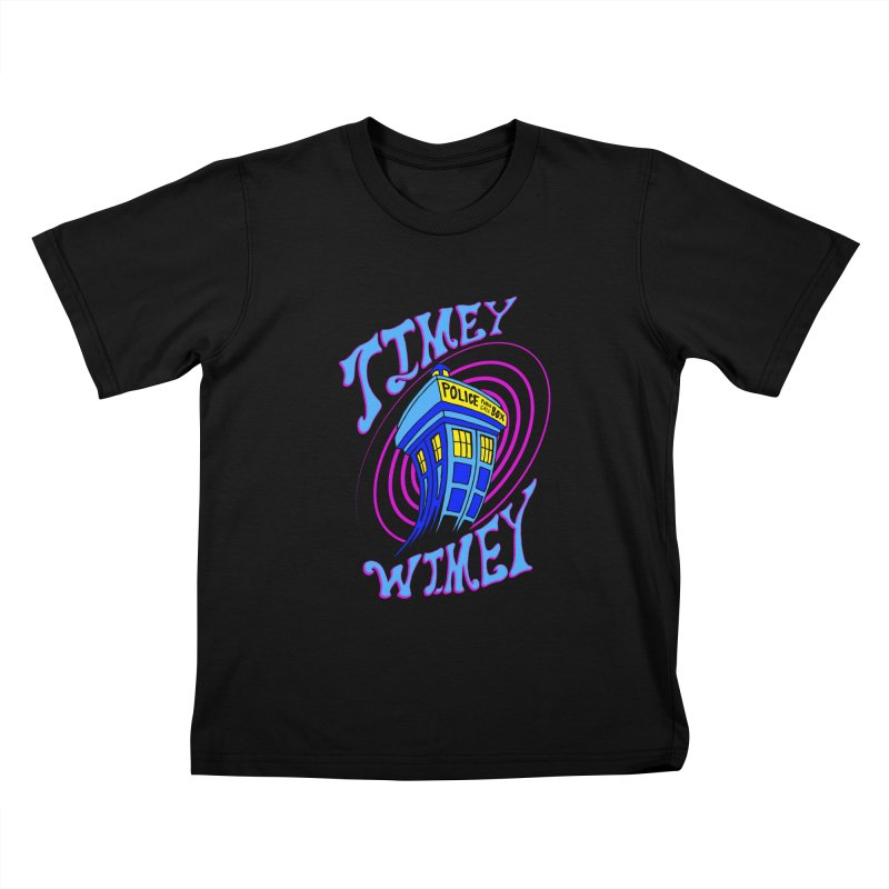 Timey Wimey Kids T-shirt by Ben's Shirt Shop of AwesomeShop
