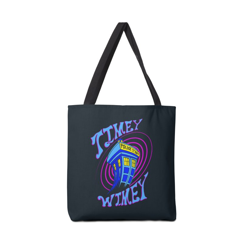 Timey Wimey Accessories Bag by Ben's Shirt Shop of AwesomeShop