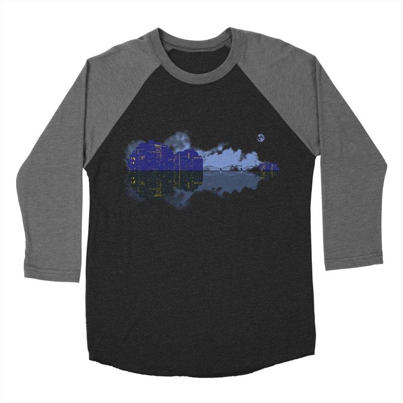 City of Music Men's Baseball Triblend T-Shirt by Ben's Shirt Shop of AwesomeShop