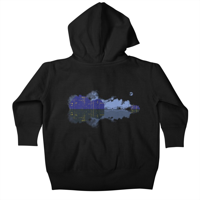 City of Music Kids Baby Zip-Up Hoody by Ben's Shirt Shop of AwesomeShop