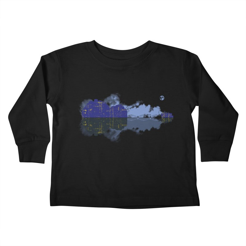 City of Music Kids Toddler Longsleeve T-Shirt by Ben's Shirt Shop of AwesomeShop
