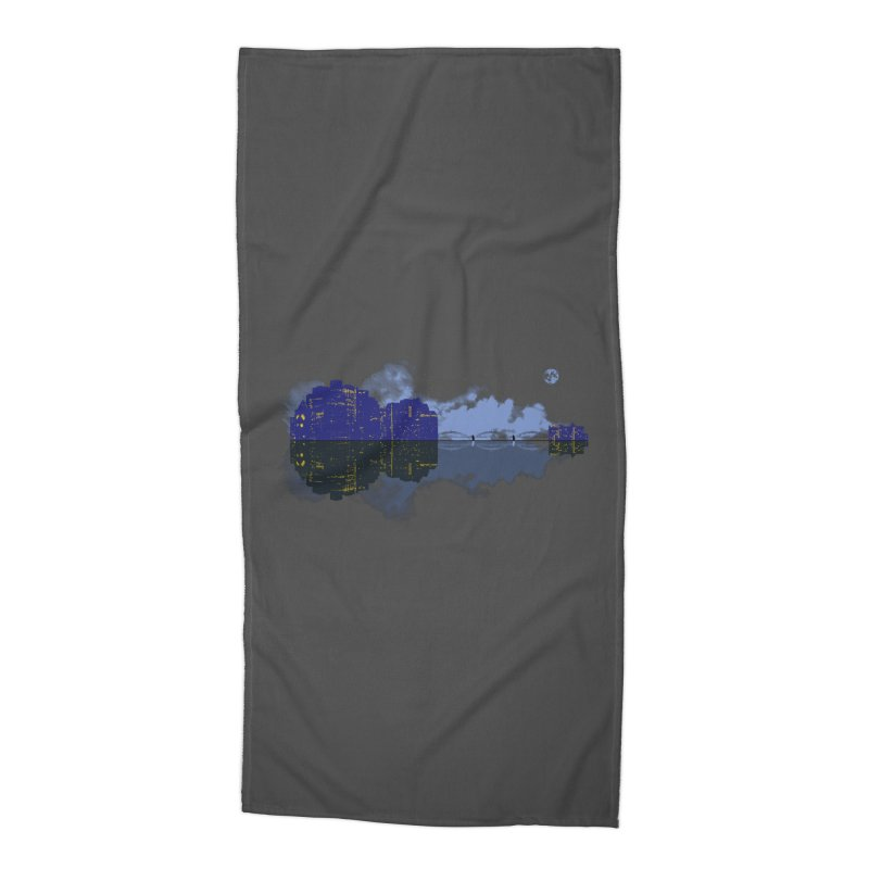 City of Music Accessories Beach Towel by Ben's Shirt Shop of AwesomeShop