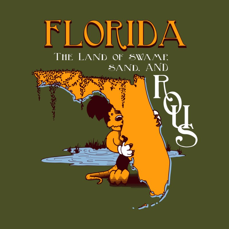 Florida Rodents Home Framed Fine Art Print by Ben's Shirt Shop of AwesomeShop
