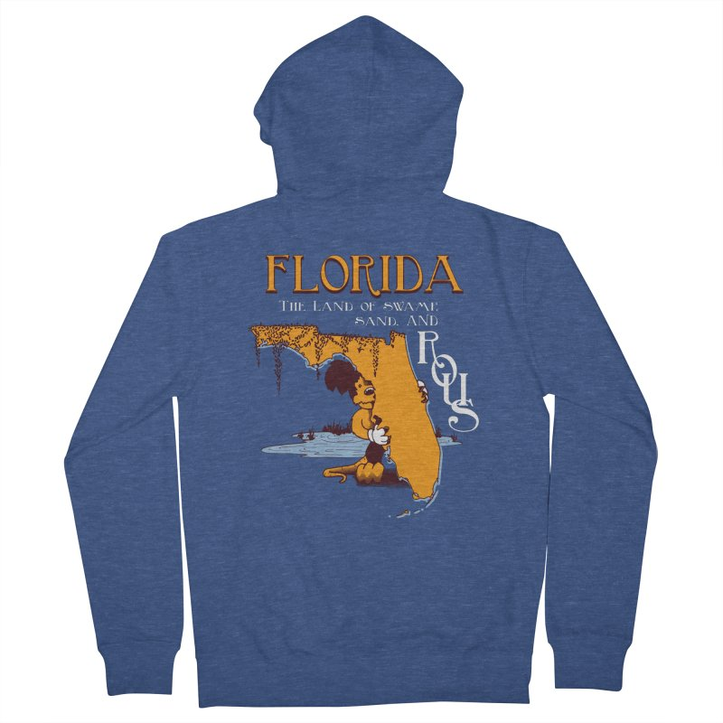 Florida Rodents Women's Zip-Up Hoody by Ben's Shirt Shop of AwesomeShop