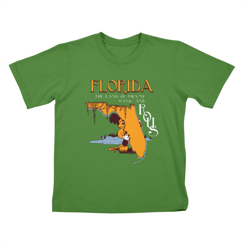 Florida Rodents Kids T-shirt by Ben's Shirt Shop of AwesomeShop