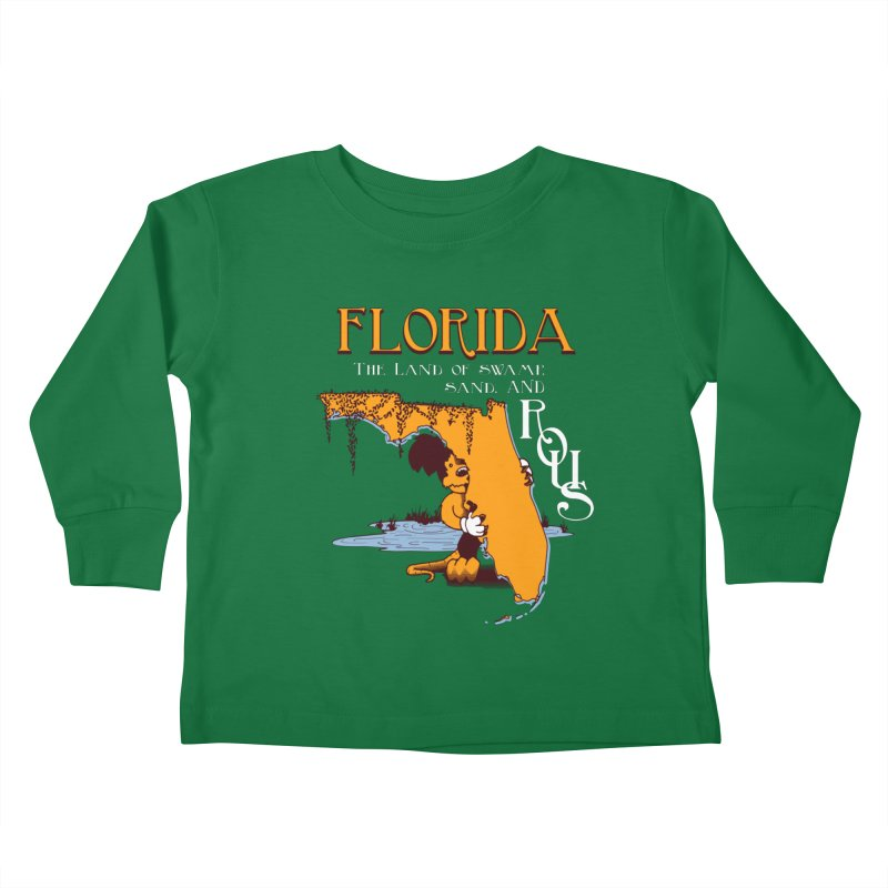 Florida Rodents Kids Toddler Longsleeve T-Shirt by Ben's Shirt Shop of AwesomeShop