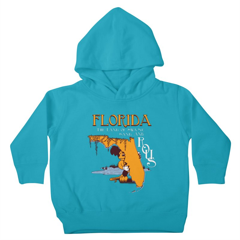 Florida Rodents Kids Toddler Pullover Hoody by Ben's Shirt Shop of AwesomeShop