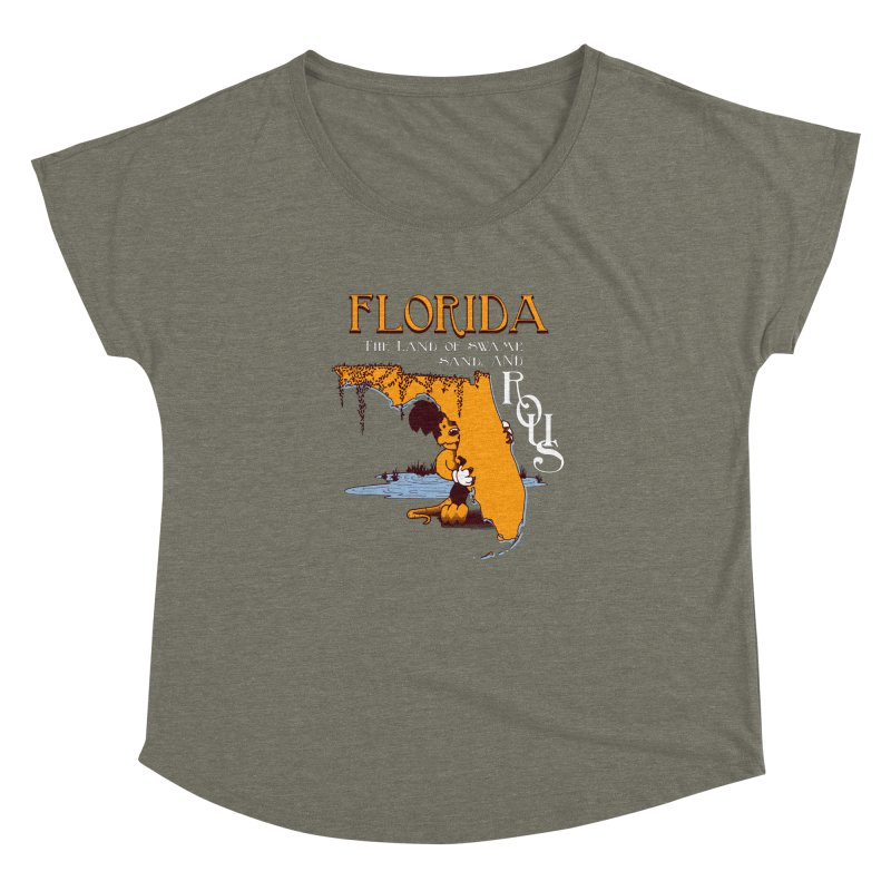 Florida Rodents Women's Dolman by Ben's Shirt Shop of AwesomeShop