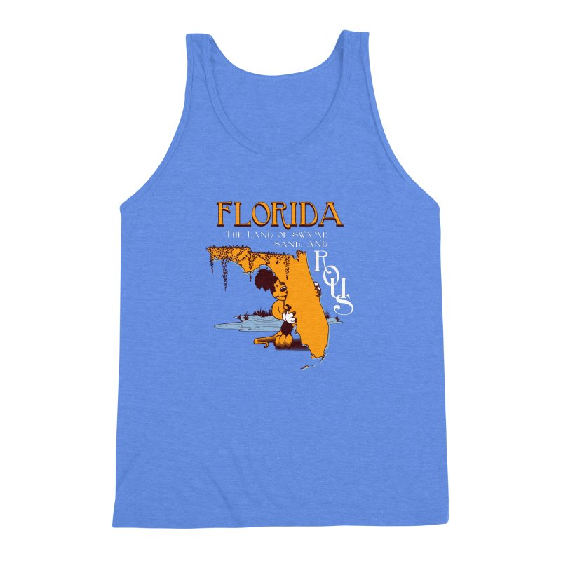 Florida Rodents Men's Triblend Tank by Ben's Shirt Shop of AwesomeShop