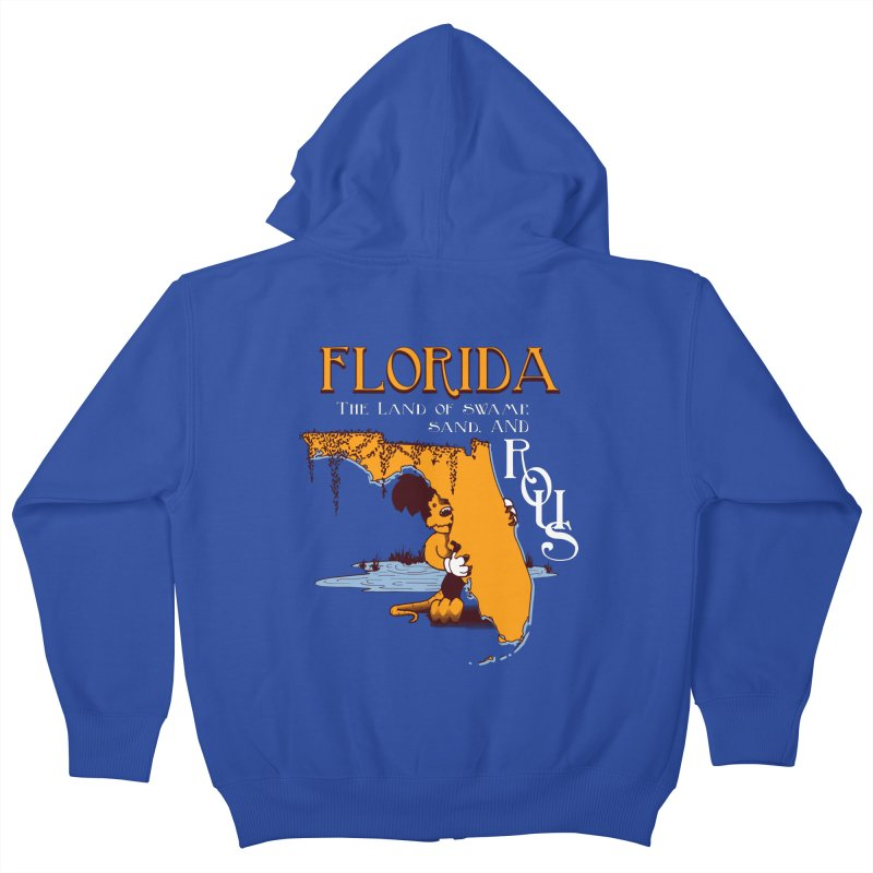 Florida Rodents Kids Zip-Up Hoody by Ben's Shirt Shop of AwesomeShop
