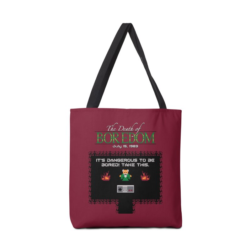 The Legend of Boredom Accessories Bag by Ben's Shirt Shop of AwesomeShop