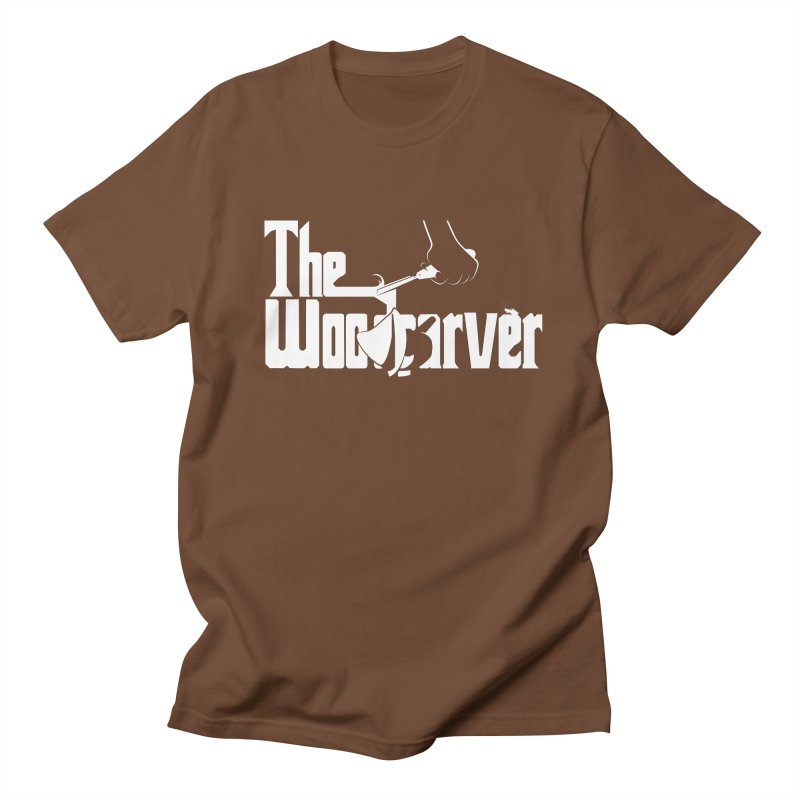 The Woodcarver Men's T-shirt by Ben's Shirt Shop of AwesomeShop