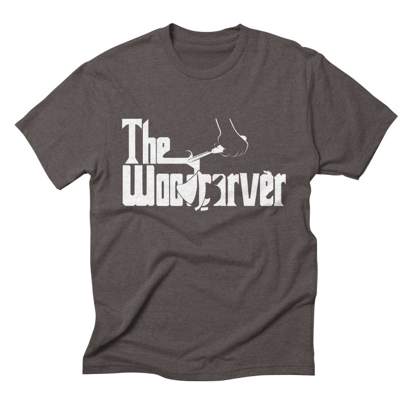 The Woodcarver Men's Triblend T-shirt by Ben's Shirt Shop of AwesomeShop