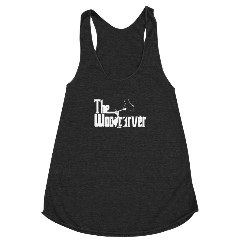 The Woodcarver Women's Racerback Triblend Tank by Ben's Shirt Shop of AwesomeShop