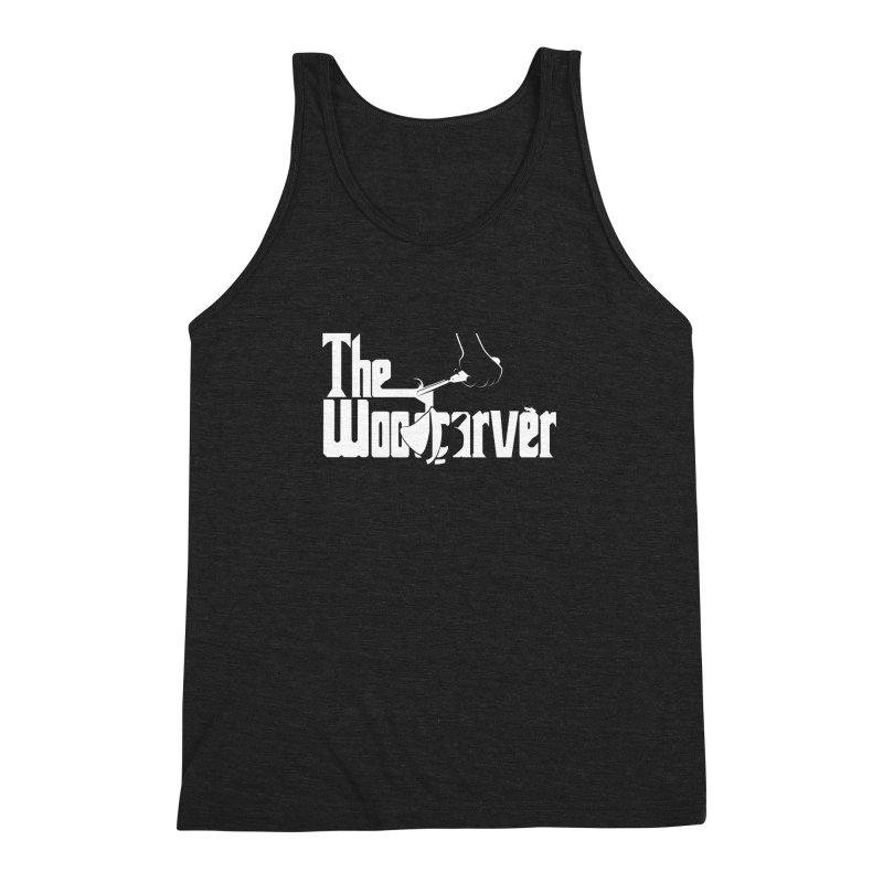 The Woodcarver Men's Triblend Tank by Ben's Shirt Shop of AwesomeShop