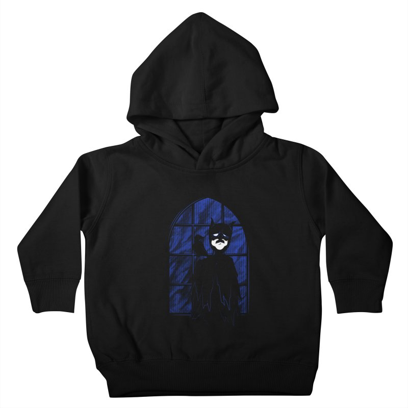 Batpoe Kids Toddler Pullover Hoody by Ben's Shirt Shop of AwesomeShop