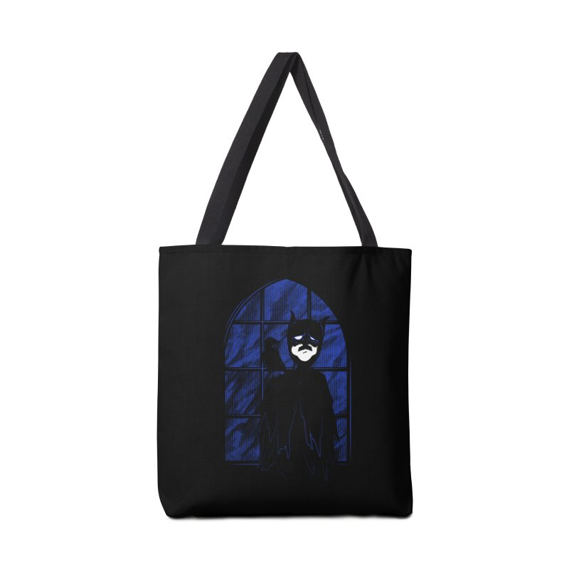 Batpoe Accessories Bag by Ben's Shirt Shop of AwesomeShop