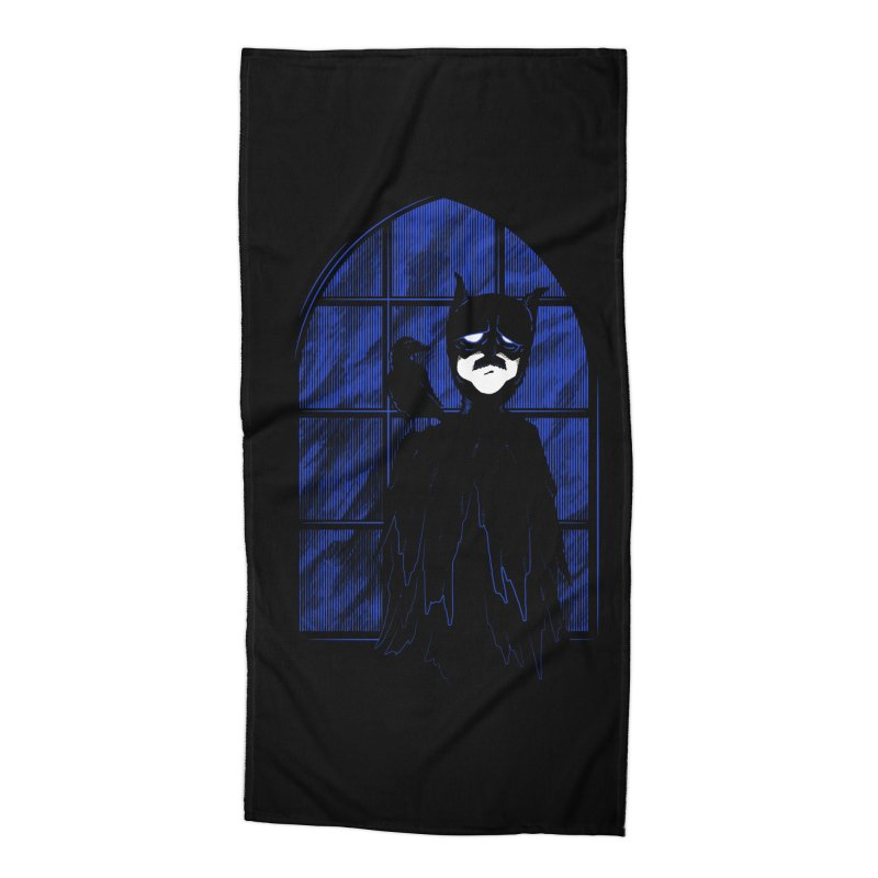 Batpoe Accessories Beach Towel by Ben's Shirt Shop of AwesomeShop