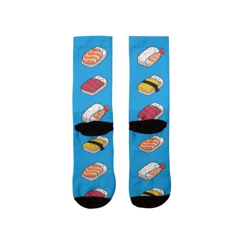 Sushi Everywhere Men's Socks by Benjimoji