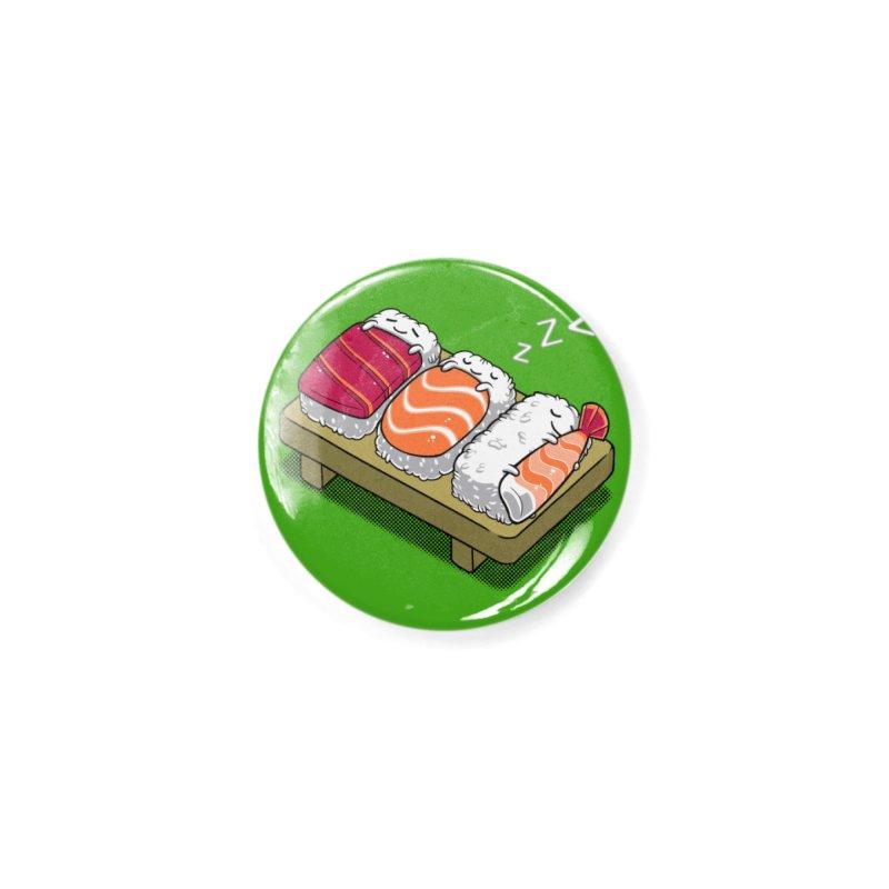 Sleepy Sushi Accessories Button by Benjimoji