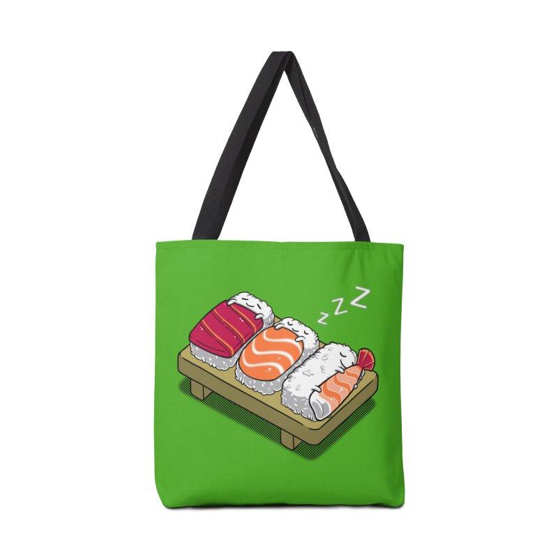 Sleepy Sushi Accessories Bag by Benjimoji