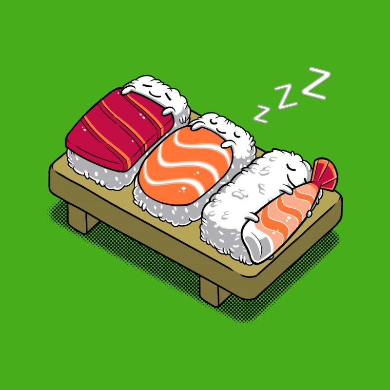Sleepy Sushi Accessories Notebook by Benjimoji