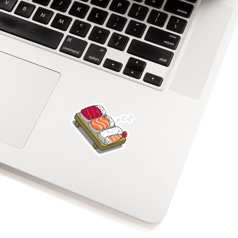 Sleepy Sushi Accessories Sticker by Benjimoji