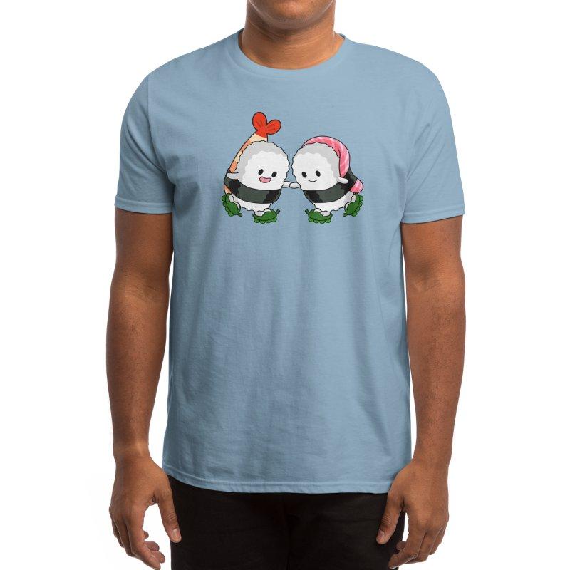 Sushi Rollerblade Men's T-Shirt by Benjimoji