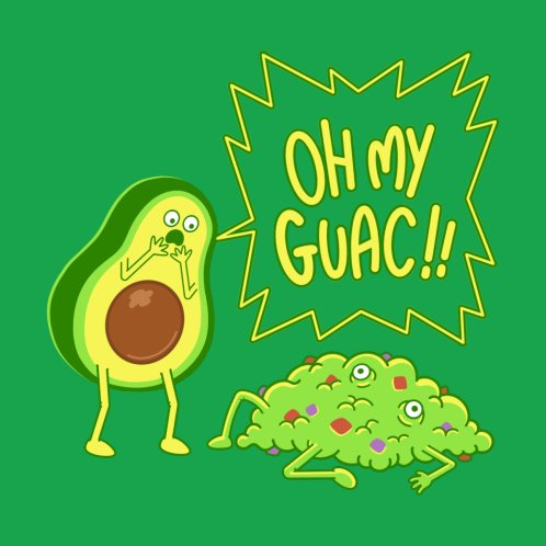Design for Oh My Guac!