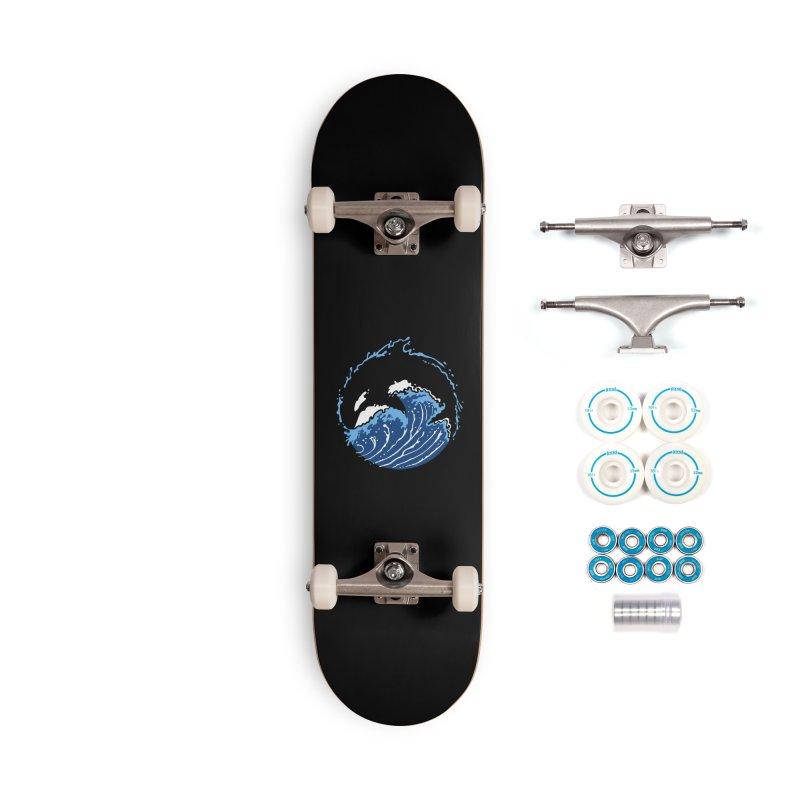 Orca Waves Accessories Skateboard by Benjimoji