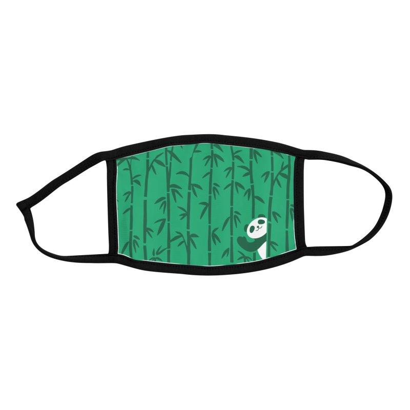 Hey Panda Accessories Face Mask by Benjimoji