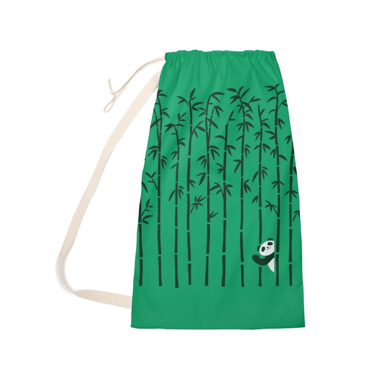 Hey Panda Accessories Bag by Benjimoji