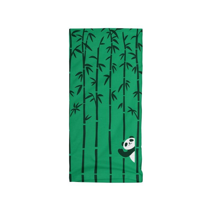 Hey Panda Accessories Neck Gaiter by Benjimoji
