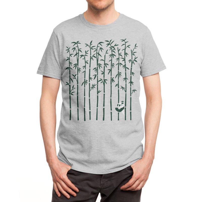 Hey Panda Men's T-Shirt by Benjimoji