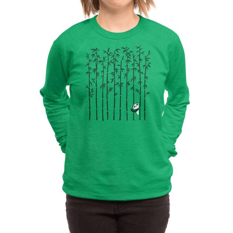 Hey Panda Women's Sweatshirt by Benjimoji