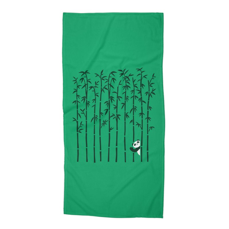 Hey Panda Accessories Beach Towel by Benjimoji