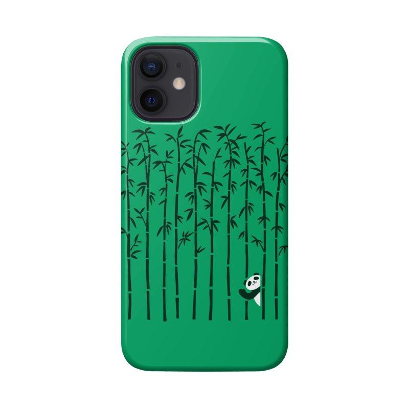 Hey Panda Accessories Phone Case by Benjimoji