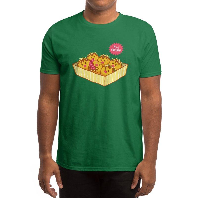 Tako Ouchi Men's T-Shirt by Benjimoji